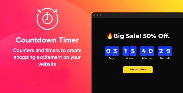 Elfsight Countdown Timer Plugin